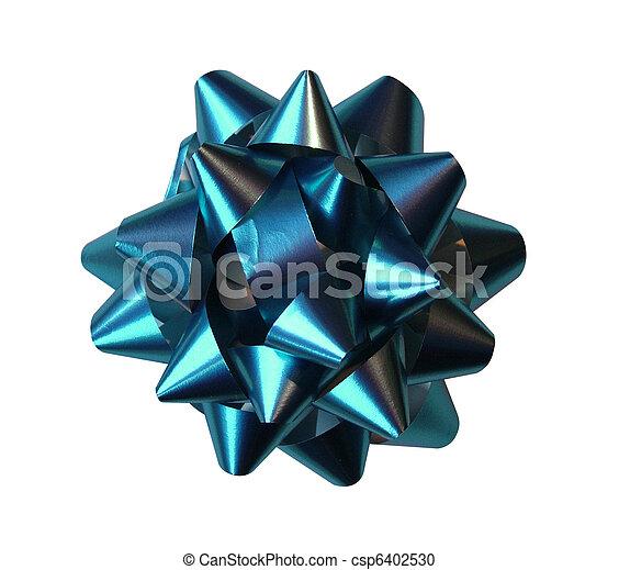 Blue bow - csp6402530