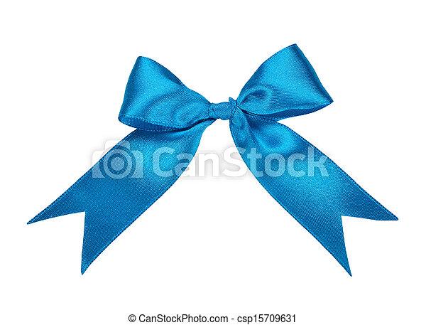 blue bow - csp15709631