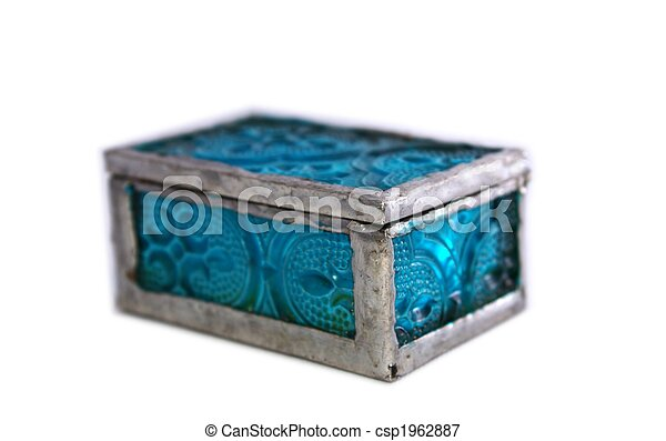 Blue Box - csp1962887