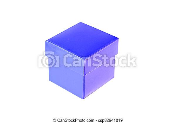 Blue box - csp32941819