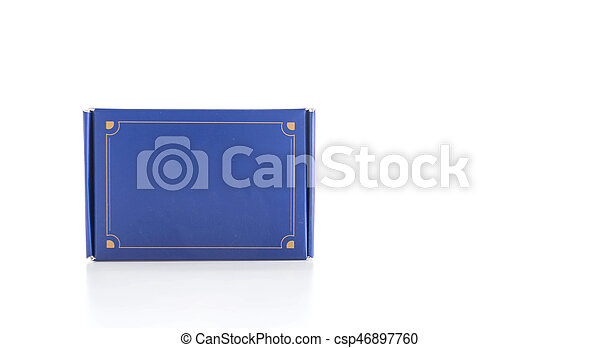 Blue box - csp46897760
