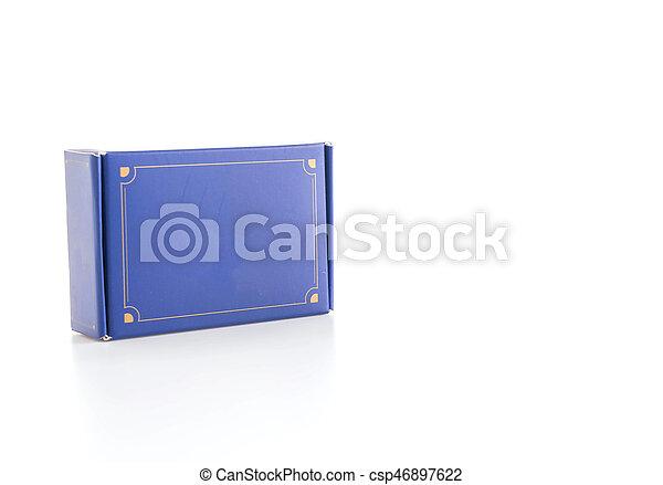 Blue box - csp46897622