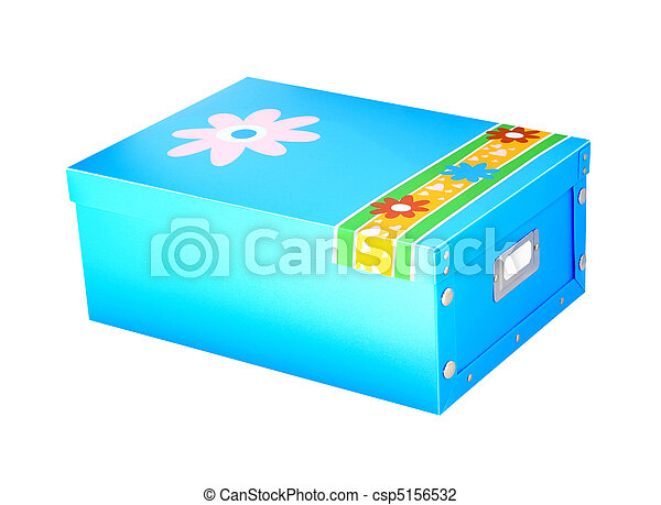 Blue box - csp5156532