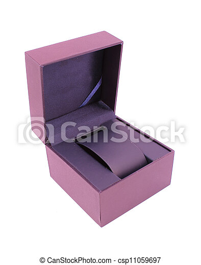 Blue box. - csp11059697