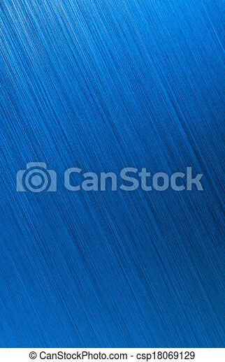 blue brushed metal