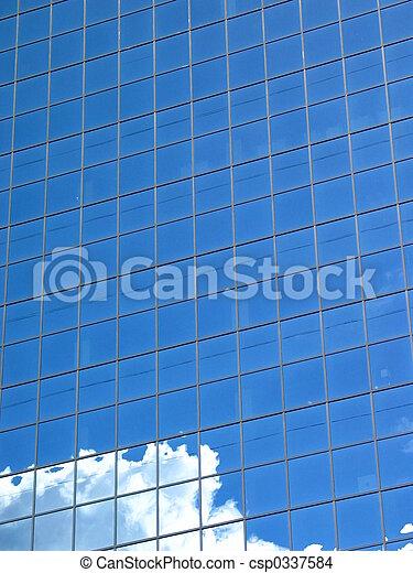 Blue Building - csp0337584