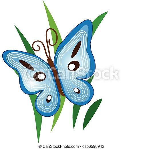 Blue Butterfly - csp6596942