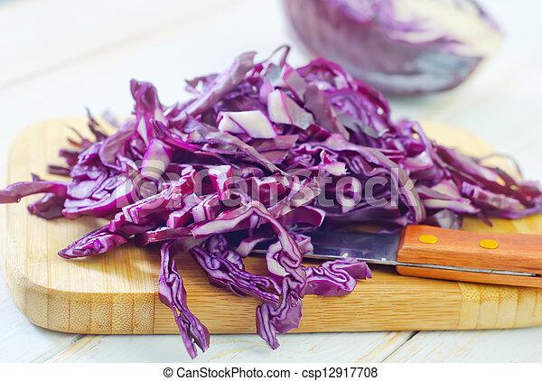 blue cabbage - csp12917708