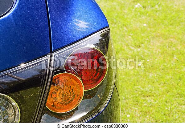 blue car - csp0330060