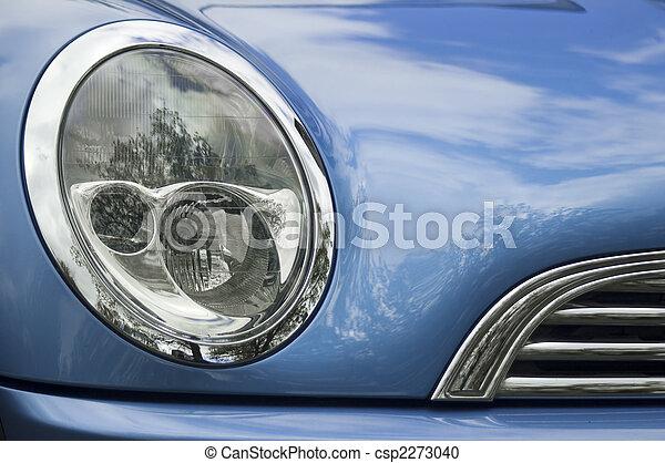 Blue car - csp2273040