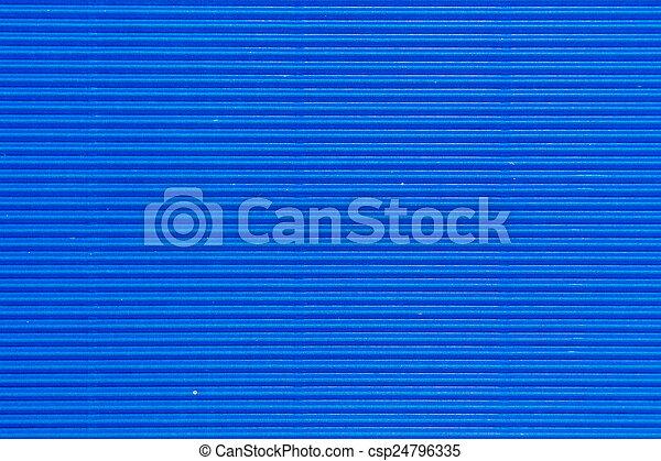 blue cardboard texture - csp24796335