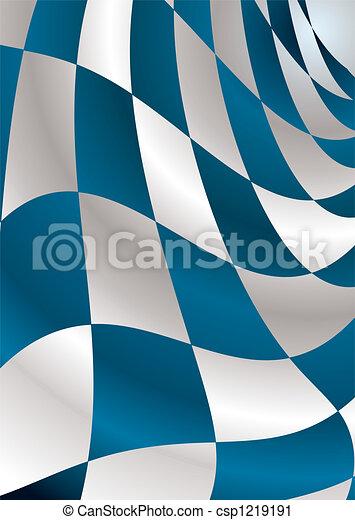 blue checker - csp1219191