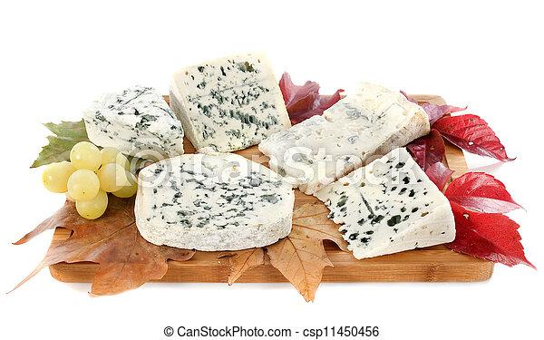 blue cheeses - csp11450456