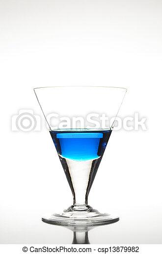 Blue Cocktail - csp13879982