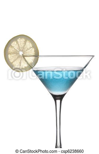 Blue Cocktail - csp6238660