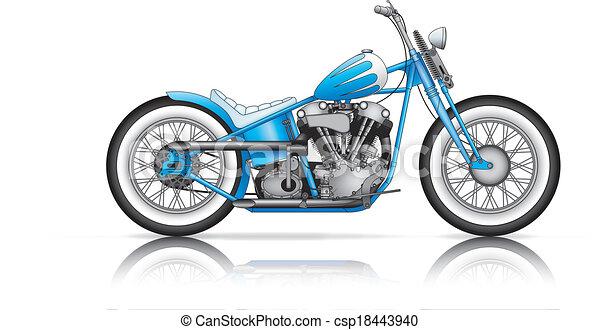 blue custom bobber - csp18443940
