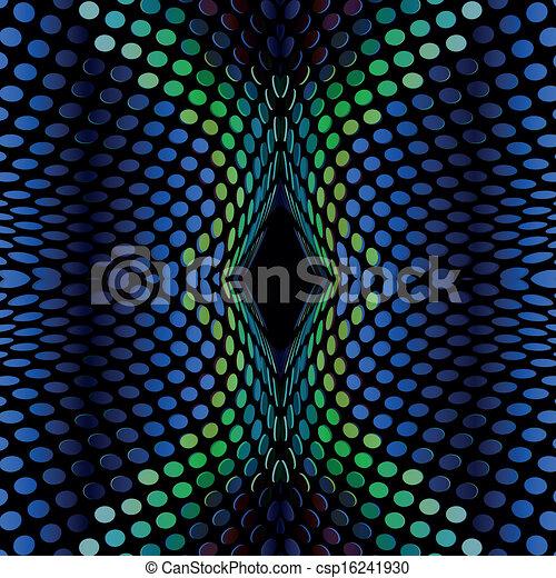 Blue design abstract - csp16241930