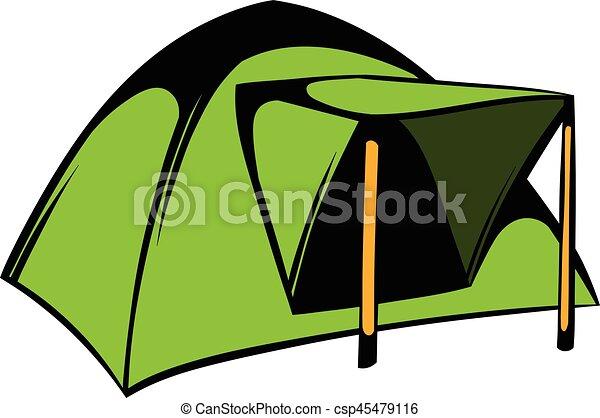 Blue Dome Tent Icon Icon Cartoon Vector  sc 1 st  Can Stock Photo & Blue dome tent icon icon cartoon. Blue dome tent icon in ...