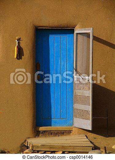Blue Door - csp0014146