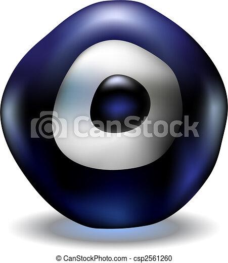 blue evil eye - csp2561260