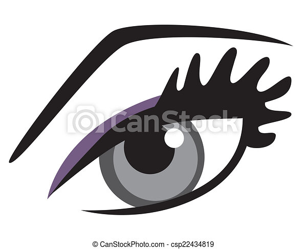 Blue Eye - csp22434819
