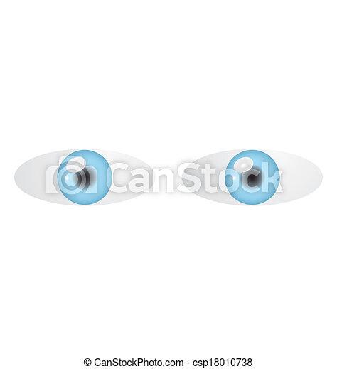 blue eyes - csp18010738