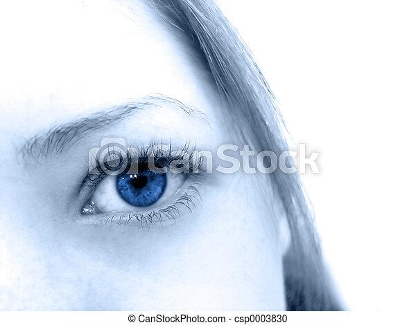 Blue Eyes - csp0003830