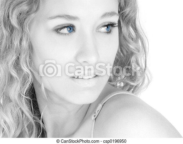 Blue Eyes - csp0196950