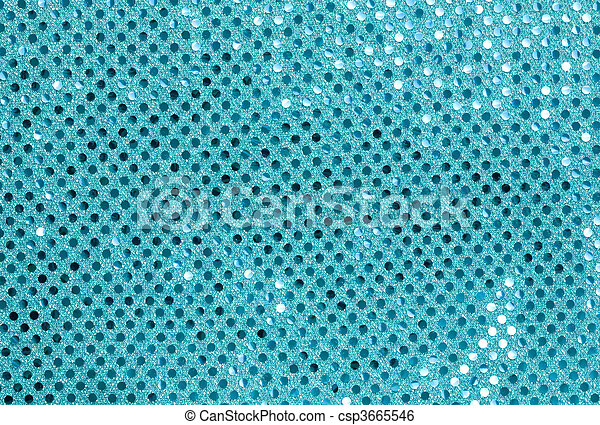 Blue Fabric with Spangles - csp3665546