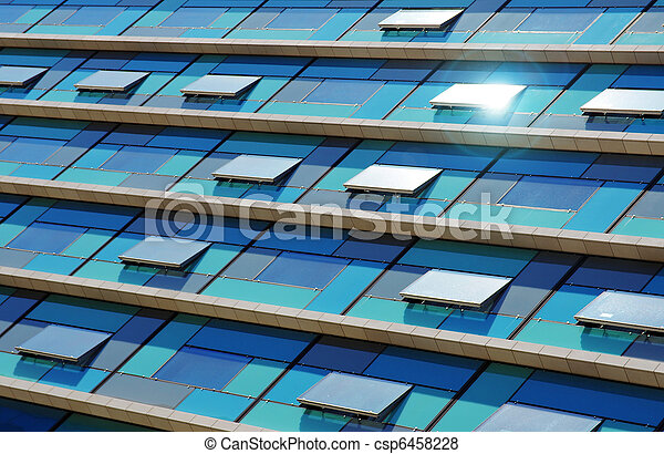 Blue Facade - csp6458228