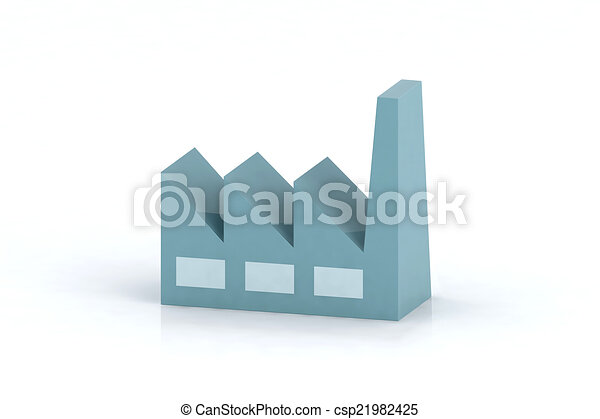 blue factory - csp21982425