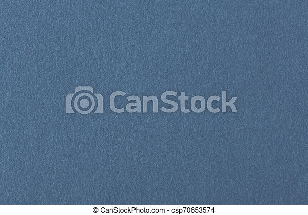 Blue felt background for design. View from above. - csp70653574