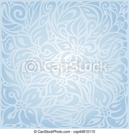Blue floral vector invitation decorative background design blue floral vector invitation decorative background stopboris Images