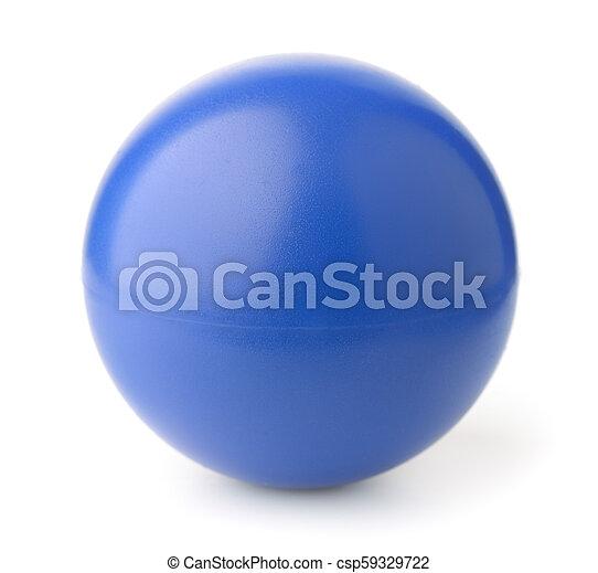 Blue foam stress ball - csp59329722