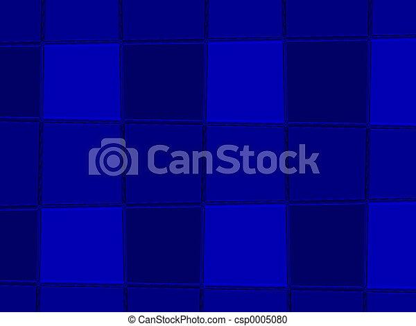 Blue Fountain Tiles - csp0005080