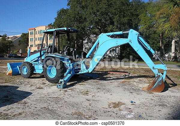 Blue Front End Loader - csp0501370