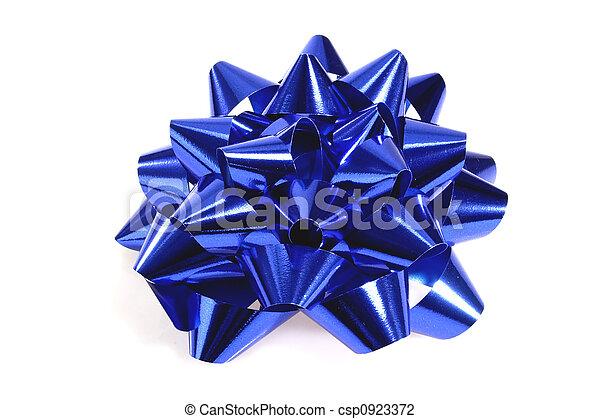 Blue gift loop - csp0923372
