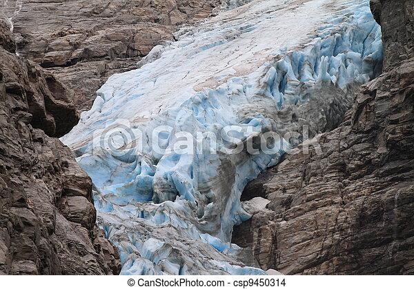 Blue Glacier in Norway - csp9450314