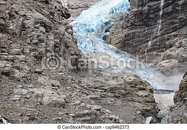 Blue Glacier in Norway - csp9462373