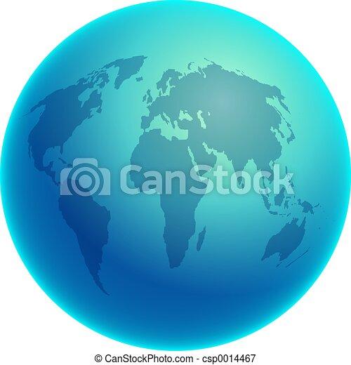 Blue Globe - csp0014467