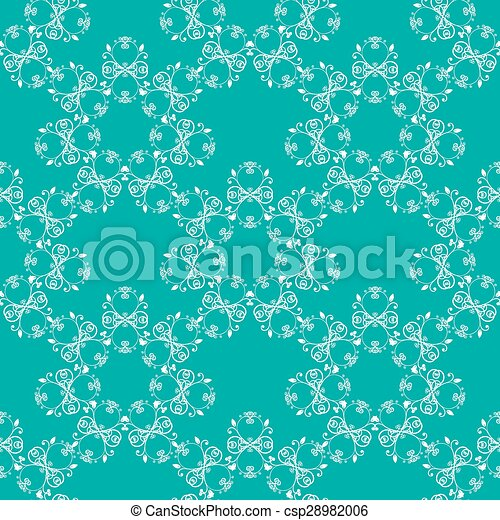 blue green seamless pattern - csp28982006