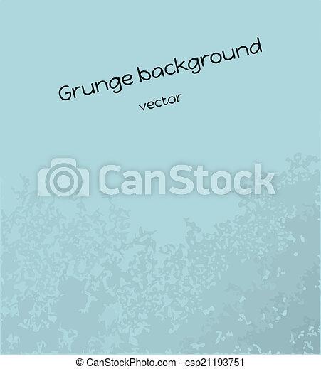 blue grunge background - csp21193751