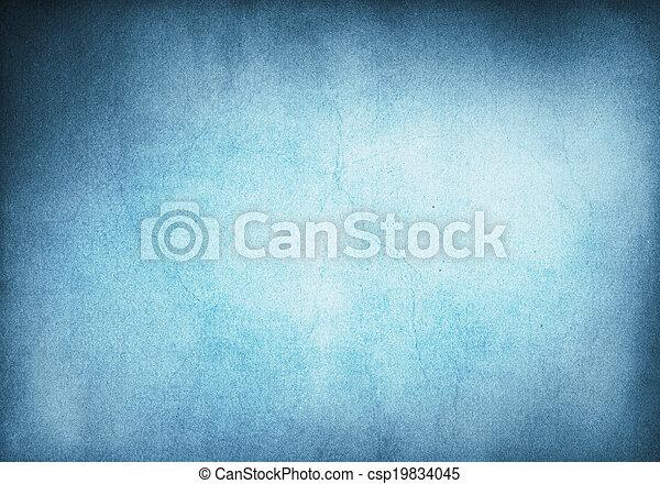 Blue Grunge Background - csp19834045
