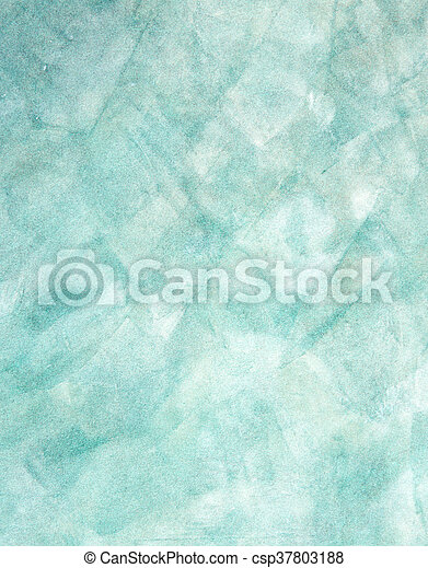 blue grunge painted wall texture background - csp37803188