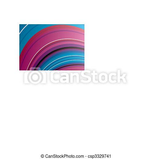 blue háttér, lenget - csp3329741