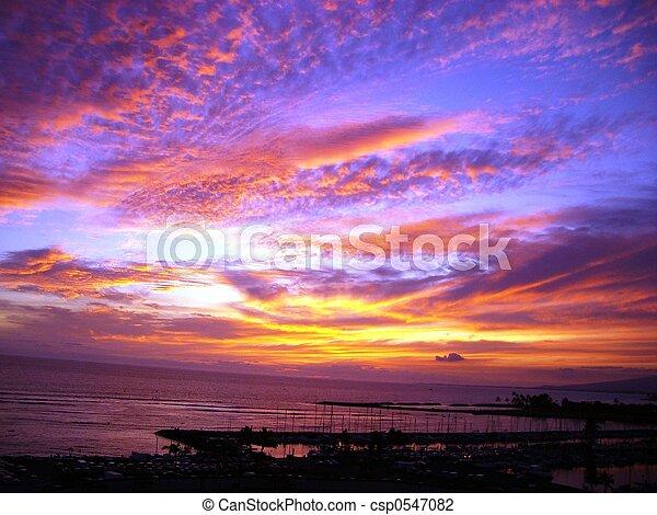 Blue Hawaiian Sky - csp0547082
