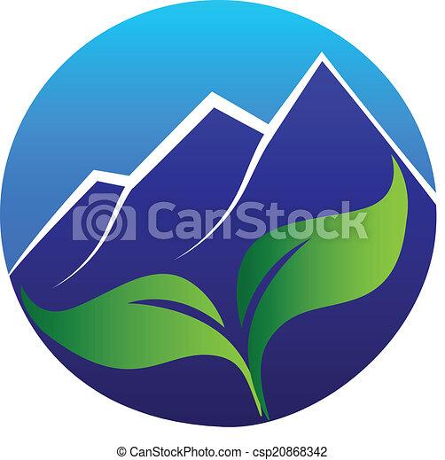blue hegy, őt lap, jel - csp20868342