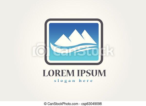 blue hegy, jel - csp63049098