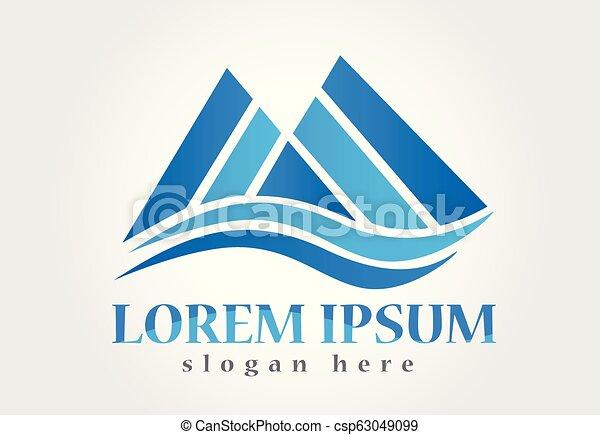 blue hegy, jel - csp63049099