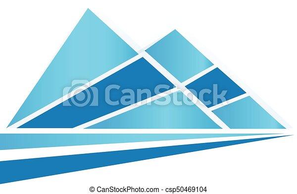 blue hegy, jel - csp50469104
